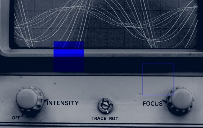 oscilloscope display screen