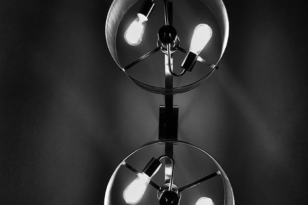 Twin light bulbs