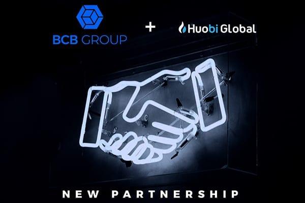 handshake and logos